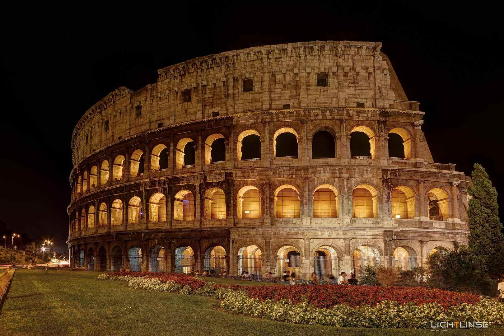 Aufnahme Colosseum in HDR Technik